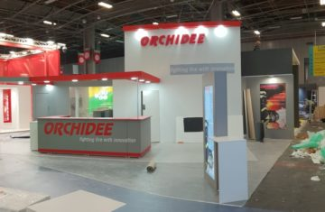 stand orchidee